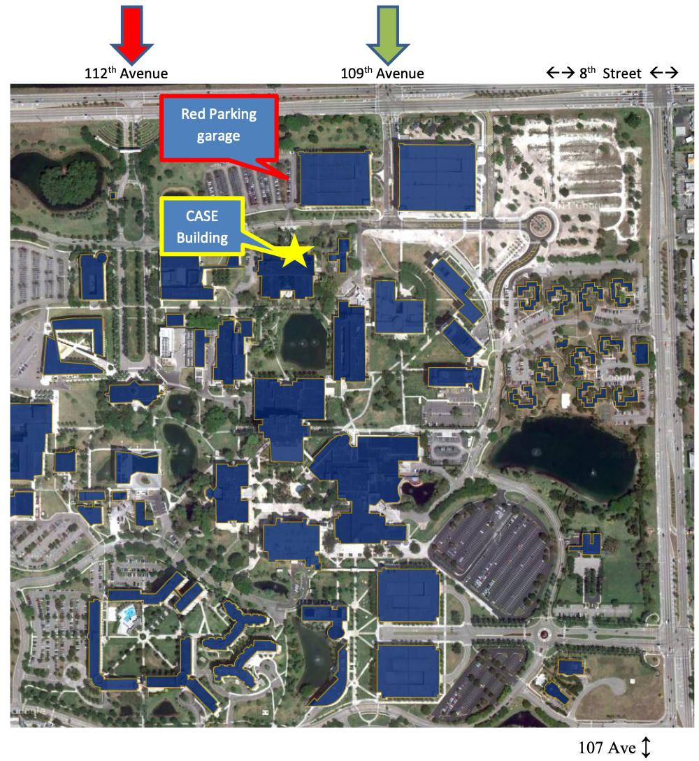 Fiu Campus Map Map of Fiu Campus